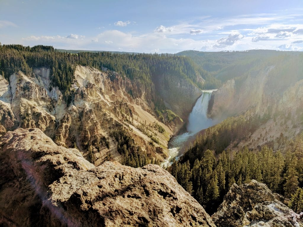 Grand Canyon of Yellowstone Scenic View