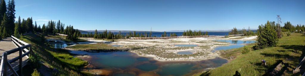 Yellowstone Panoramic Picture