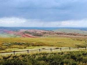 Wyoming Scenic View