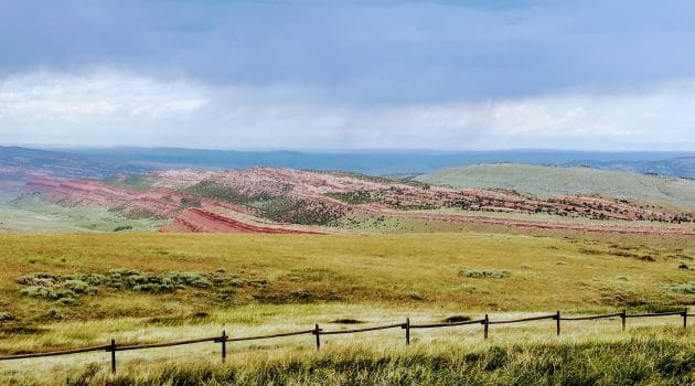 Scenic Picture of Wyoming